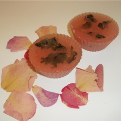 rose absolute with lavender & petals glycerin soap tar